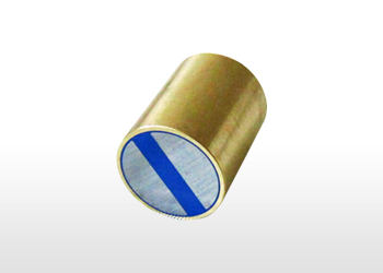 Magnetic lenses, cylindrical, with inner screw, made of brass, with the tolerance of h6